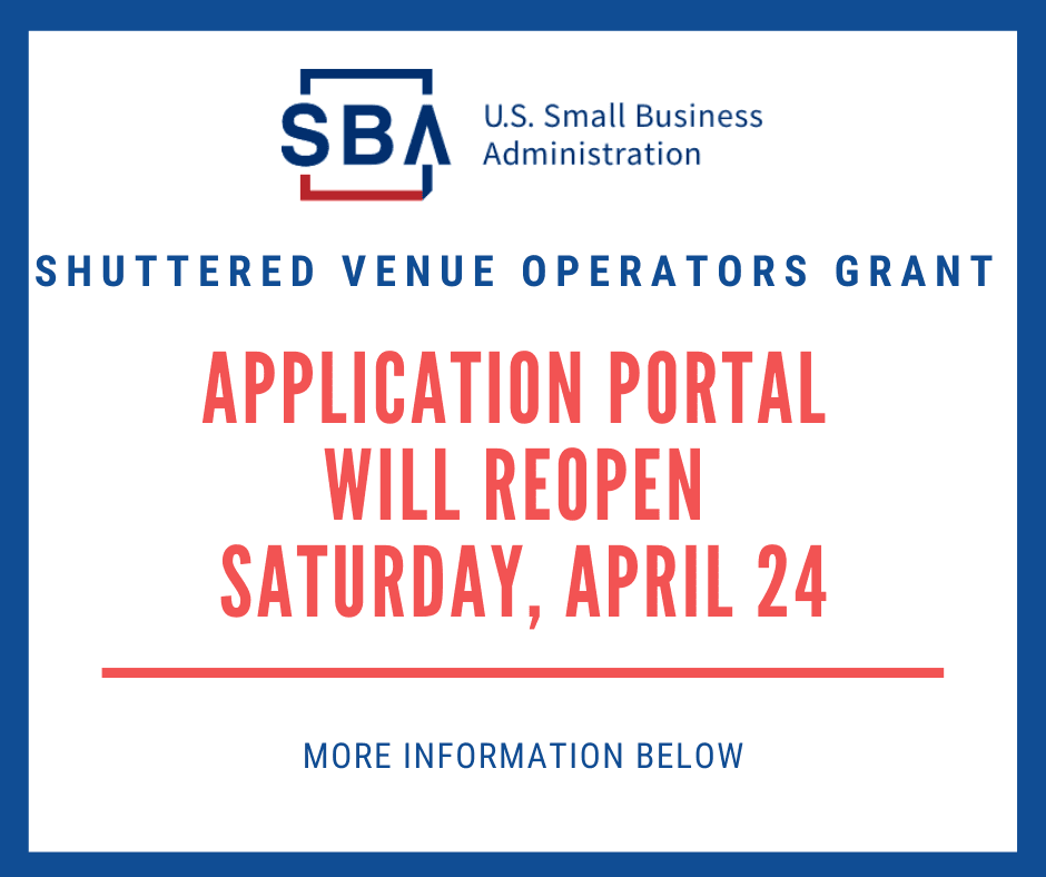 SBA Announcement