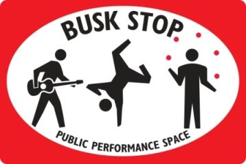 Busker Sign Small