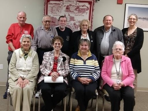 The Friends of the Council on Aging sitting for a picture
