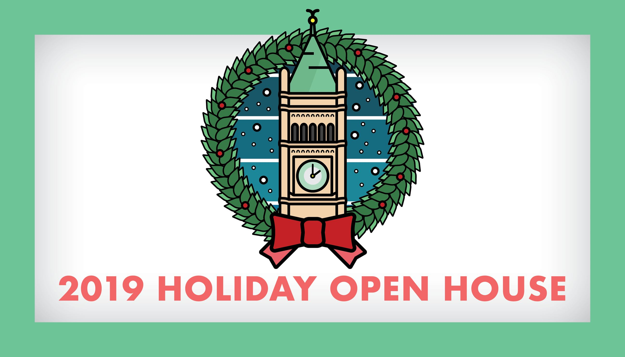 Holiday Open House Website